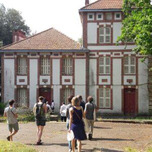 Le centre de Bonne anse, une colonie de vacances de la Ville de Saint-Nazaire. (image de Pauline Ouvrard, juin 2017)
